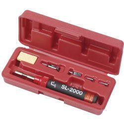Портативный газовый паяльник с четырьмя насадками ProsKit 8SL-2000N