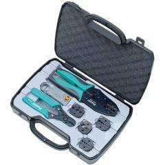 Набор инструментов для обжатия коаксиального кабеля ProsKit 6PK-330K