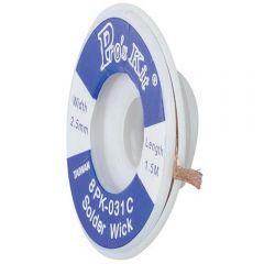 Оплетка для удаления припоя ProsKit 8PK-031C (2.5 мм)