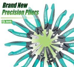 Новая серия высокоточных пассатижей и кусачек Pro'sKit с 19 вариантами специализированных головок